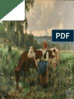 Julien Dupre b1558 Milkmaid With Cows Wm