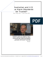 Can Australian and U.S. Smoke Alarm Standards be Trusted - Parts 1 and 2