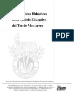 Las Tecnicas Didacticas Del Modelo Educativo de ITESM