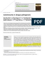 Autoimmunity in Dengue Pathogenesis