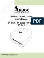Argox Manual
