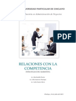 Relaciones Con La Competencia_estrategias Del Marketing