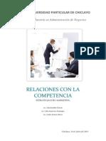 Relaciones Con La Competencia_estrategias Del Marketing