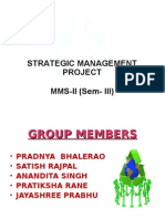 Strategic Management of ITC