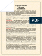JEROME BRUNER, Juego pensamiento y lenguaje.docx