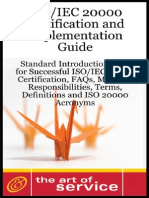 1921523034 - ISO/IEC 20000 Certification and Implementation Guide