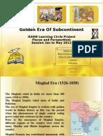 Golden Era of Subcontinent