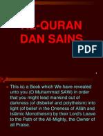 AlQuran Dan Sains