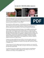 Adulto Mayor en Ecuador