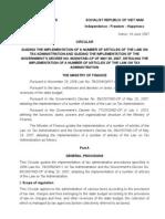 Circular60-2007 Tax Administration