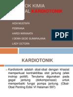Kelompok Kimia Medisinal Kardiotonik