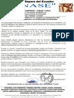 Nacionalidad Sapara del Ecuador (NASE)