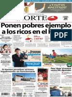 Periódico Norte de Ciudad Juarez 20 de Diciembre de 2013