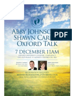 Oxford Talk