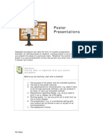 Poster Presentation Guidance
