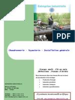 Entreprise industrielle Chaudronnerie Tuyauterie Dakar-Sénégal