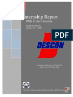 108056140 DESCON Internship Report