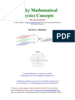 [[[[ Funky Mathematical Physics Concepts ]]]]