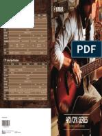 Catalog yamaha guitar