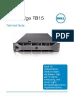 Dell Poweredge r815 Tech Guide