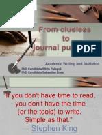 Academic Writing and Statistics