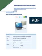 Notebook Toshiba Satellite P55