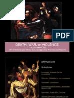 Baroque Art Caravaggio and Gentileschi