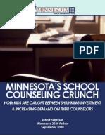 Minnesota's School Counseling Crunch