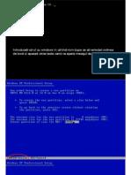 Instalare Win Xp
