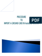 Procedure for Converting Autocad Earth Drag to Etap