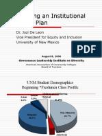 Developing an Institutional Diversity Plan