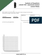 Math10.CA u7l2 Substitution