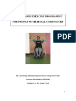 Spinal Exercise Home Programme