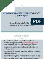 Massive Residual Dental Cyst