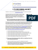 How to Become Mct