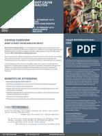 Root Cause Analysis, 19 - 20 Feb 2014 Dubai, UAE / 24 - 25 Feb 2014 Kuala Lumpur, Malaysia