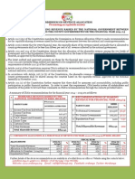 Commission On Revenue Allocation Vertical Sharing Formula 2014_2015 Summary