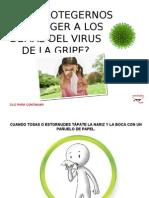 Protégete de la gripe