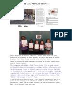 Actividad 'La postal de Carlota' - CEIP Torre Ramona
