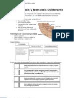 Aterosclerosis y Trombosis Obliterante
