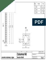 Autodesk Robot Structural Analysis Professional 2014 - [Plano de ejecución] columna148