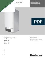 Logamax Plus GB162 Manual Utilizare