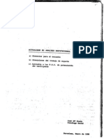 Actualizar El Analisis Institucional Docutraba 90