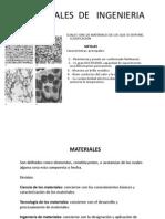 Temas Del Primer Parcial.. Metales, Enlace, Defectos, Etc
