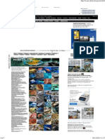 Guía de especies marinas, Waste magazine