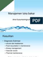 Manajemen Luka Bakar(1)