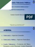 Fideicomiso y Fondos Fiduciarios Cra Manzano