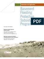 Basement Flooding Subsidy Program