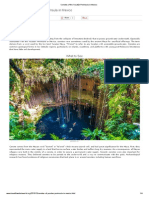 Cenotes of the Yucatán Peninsula in Mexico 02