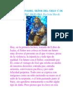 TE ALABO PADRE, SEÑOR DEL CIELO Y DE LA TIERRA